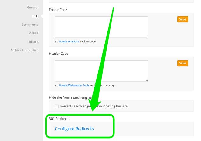 How to 301 Redirect a Page from a Previous Host (CMS Select