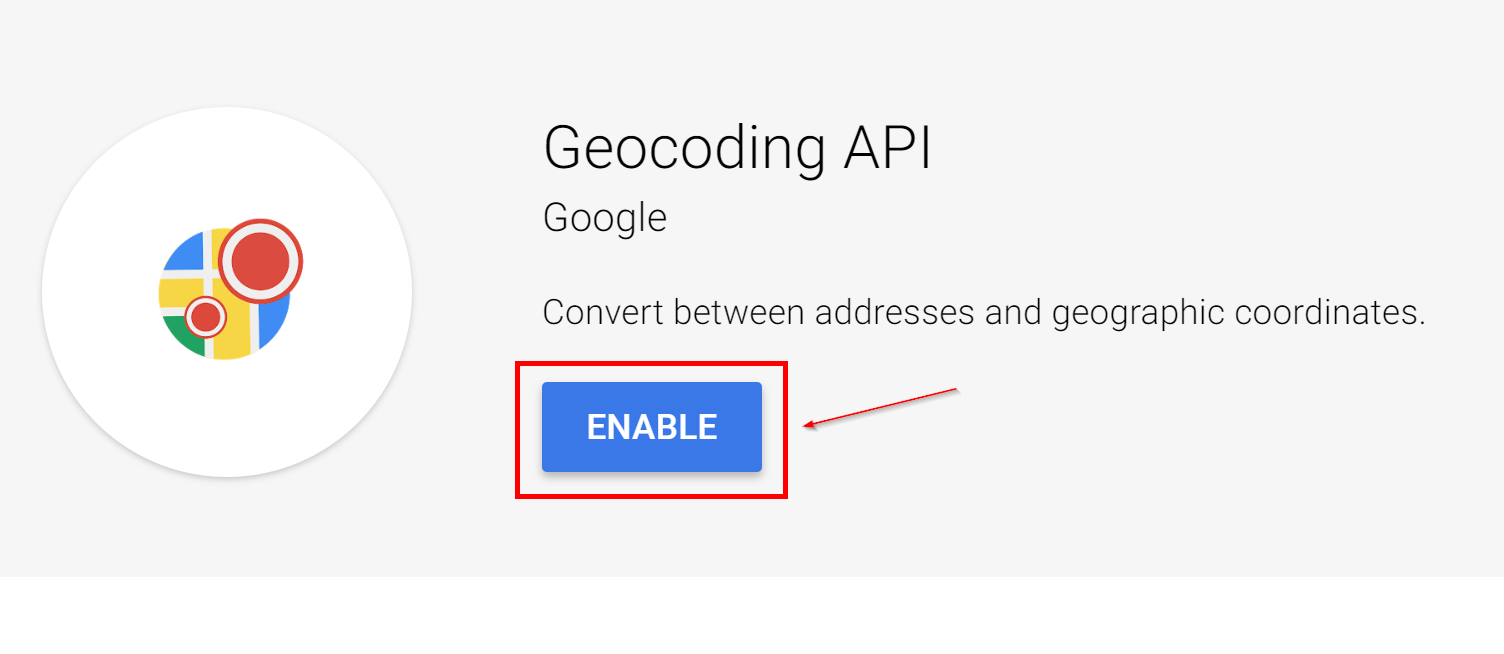 Obtaining a Google Maps API Key – Atlas